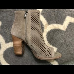 Lucky brand suede fall boots